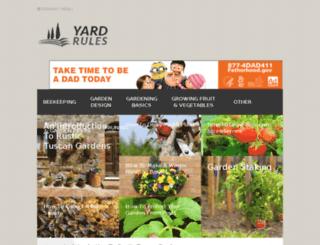 yardrules.com screenshot