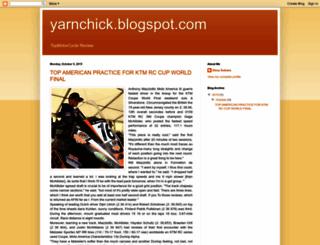 yarnchick.blogspot.com screenshot