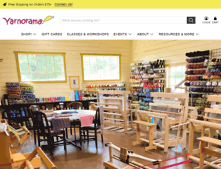 yarnorama.com screenshot