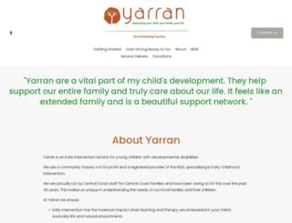 yarran.org.au screenshot