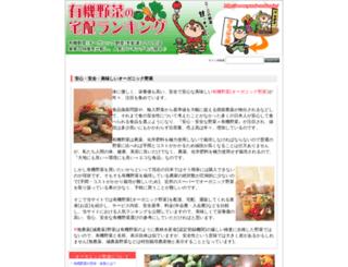 yasai-ranking.jp screenshot