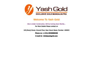 yashgold.com screenshot