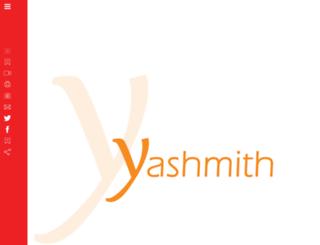 yashmith.com screenshot