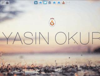 yasinokur.com screenshot