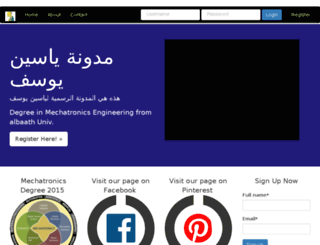 yasinyousif.pythonanywhere.com screenshot