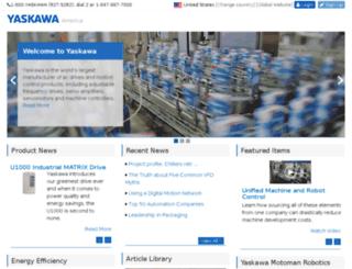 yaskawa.microexcel.com screenshot