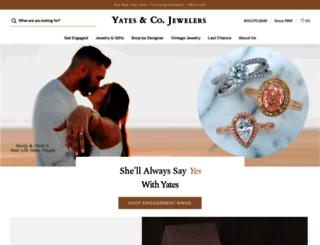yatesjewelers.com screenshot