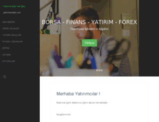 yatirimanalizi.com screenshot