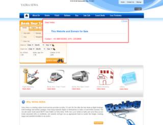 yatrasewa.com screenshot
