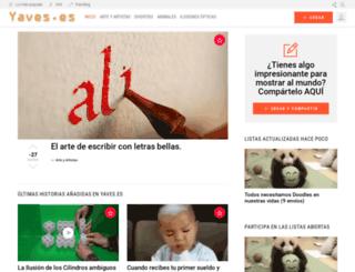 yaves.es screenshot