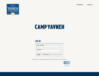yavneh.campintouch.com screenshot