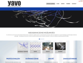 yavo.com.pl screenshot