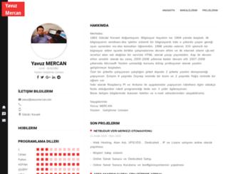 yavuzmercan.com screenshot