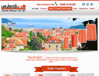 yaylaoglu.com.tr screenshot
