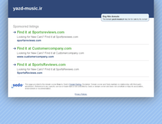 yazd-music.ir screenshot