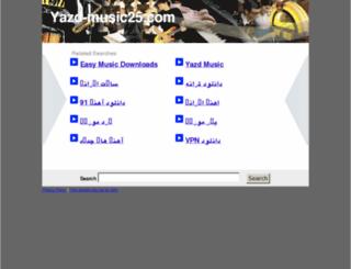 yazd-music25.com screenshot