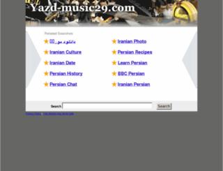 yazd-music29.com screenshot
