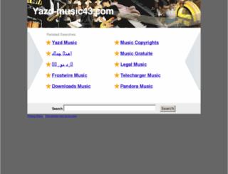 yazd-music43.com screenshot