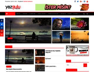 yazgulu.com screenshot
