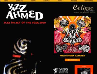 yazzahmed.com screenshot