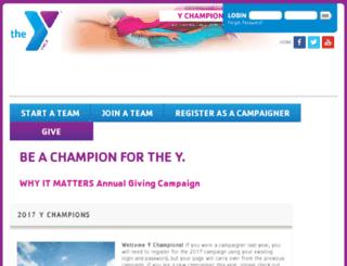 ychampions.ymcaatlanta.org screenshot