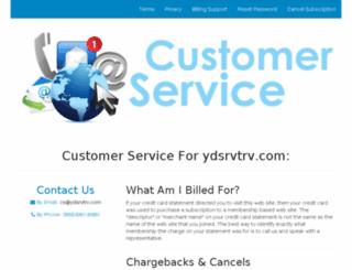 ydsrvtrv.com screenshot