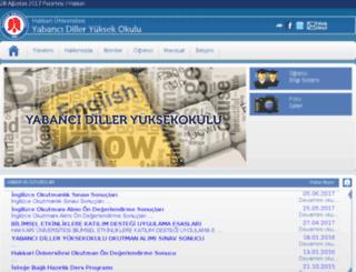 ydyo.hu.edu.tr screenshot