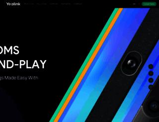 yealink.com screenshot