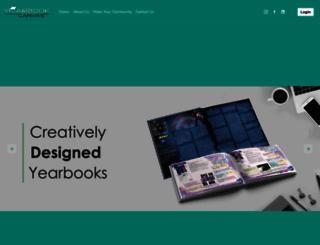 yearbookcanvas.com screenshot