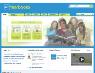 yearbooks.lifetouch.com screenshot