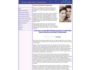 yeastinfectiontreatment.com screenshot