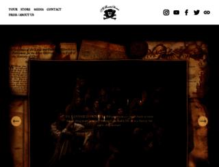 yebanishedprivateers.com screenshot