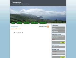 yebo-gogo.org screenshot