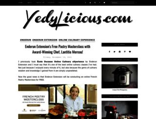 yedylicious.com screenshot