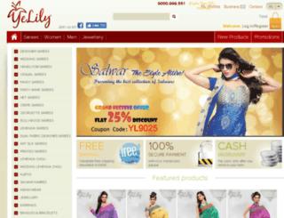 yelily.com screenshot