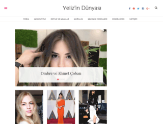 yelizindunyasi.com screenshot