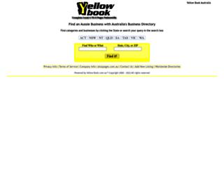 yellowbook.com.au screenshot