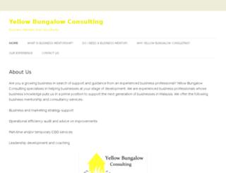 yellowbungalowconsulting.com screenshot