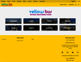 yellowbustours.com screenshot