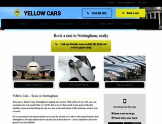 yellowcars.net screenshot