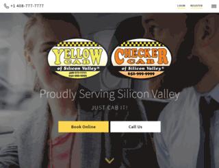 yellowcheckercab.com screenshot