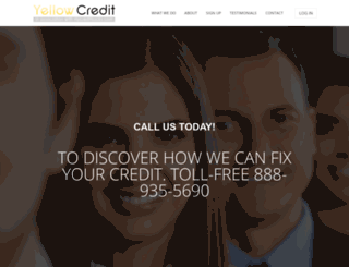 yellowcredit.com screenshot
