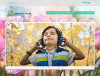 yellowcrowd.ca screenshot