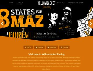 yellowjacketracing.com screenshot
