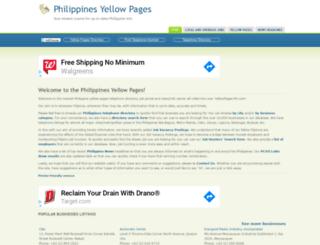 yellowpages-ph.com screenshot
