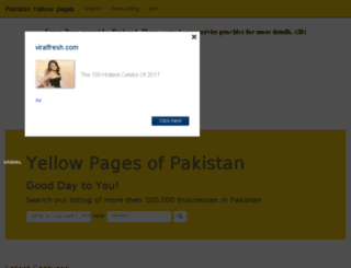 yellowpages.gbcolors.com screenshot