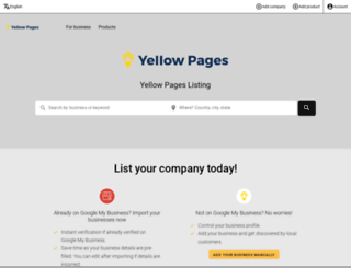 yellowpages.net screenshot
