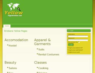 yellowpagesbrisbane.com screenshot