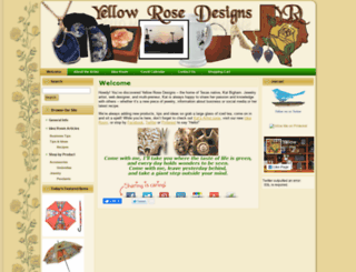 yellowrosedesigns.com screenshot