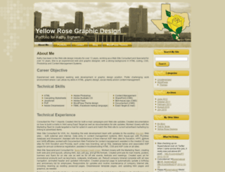 yellowrosegraphicdesign.com screenshot